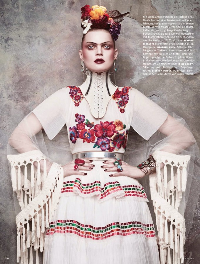 Guinevere Van Seenus by Daniele + Iango VOGUE GERMANY JUNE 2014