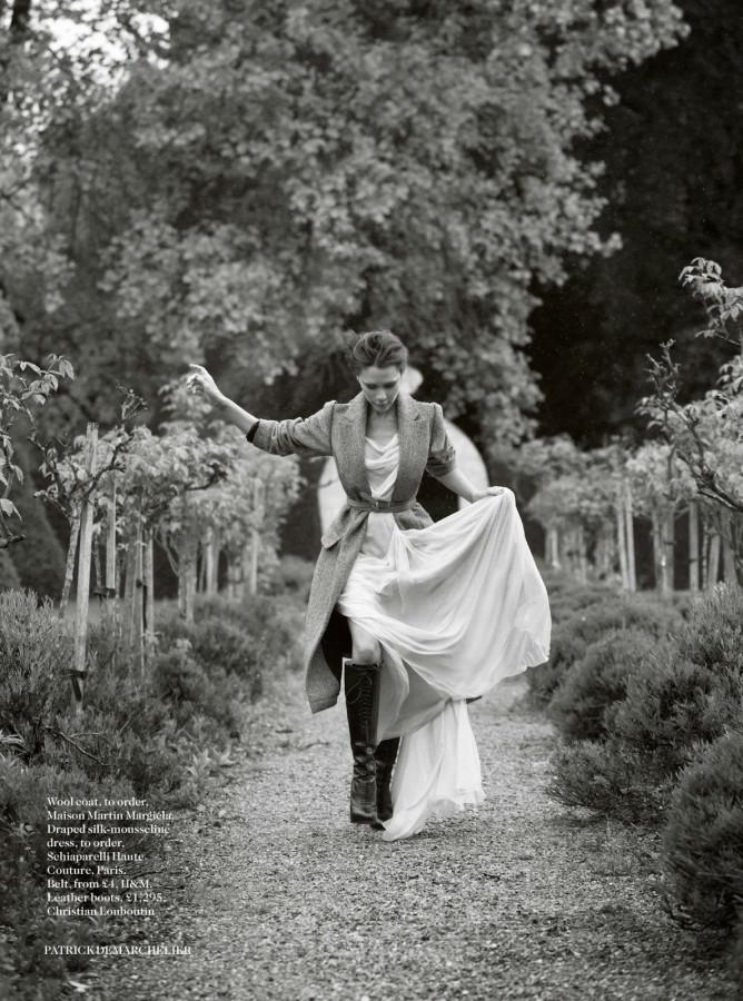 Victoria Beckham for Vogue UK August 2014