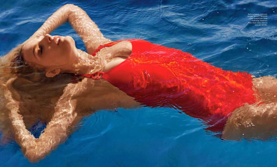 Lily Donaldson by Sebastian Faena HARPER'S BAZAAR US MAY 2014