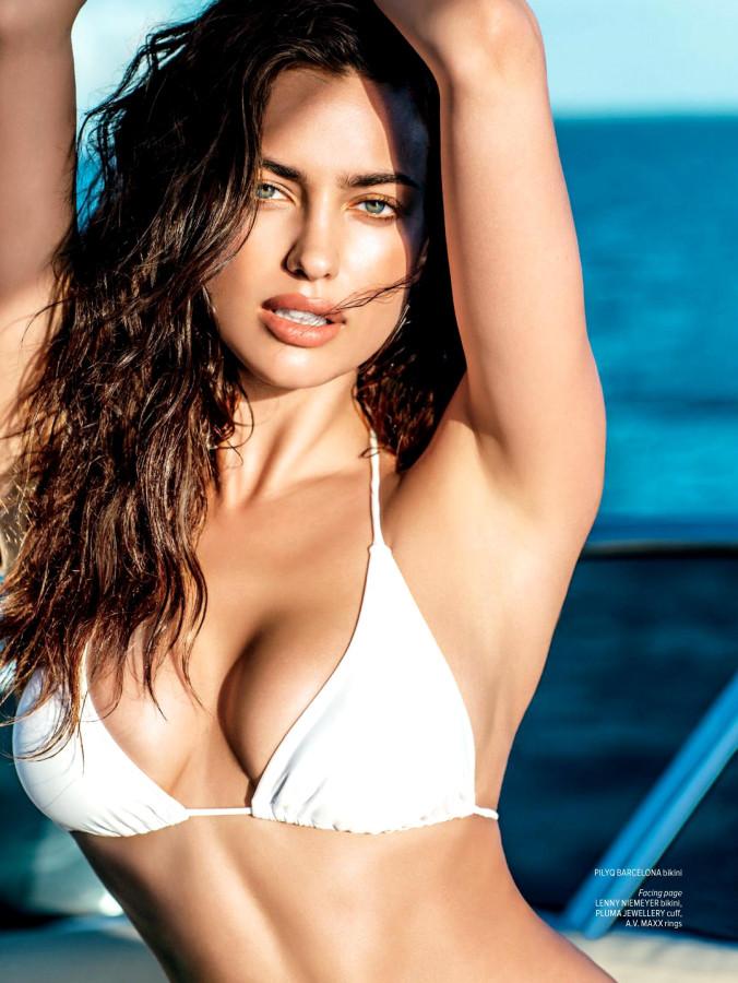 Irina Shayk Maxim India July August 2014