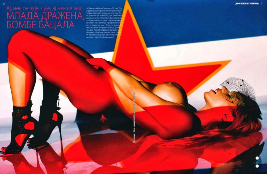 Dražena Gabrić for Playboy