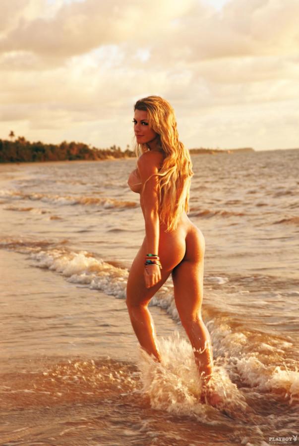 Barbara Rossi German Playboy July 2014
