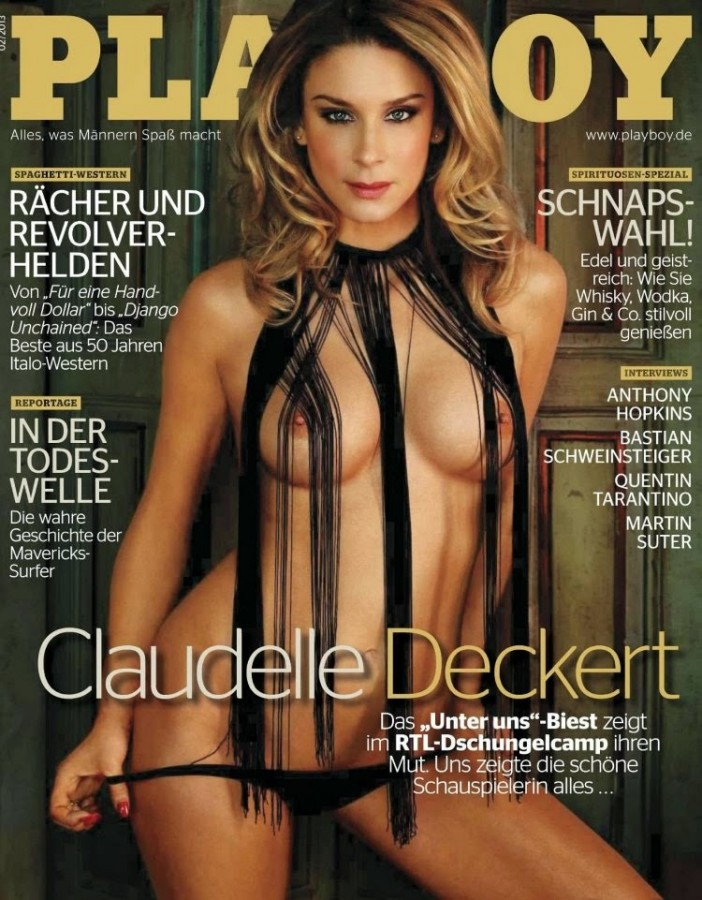 Claudelle Deckert in Playboy