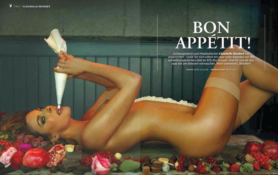 Claudelle Deckert in Playboy