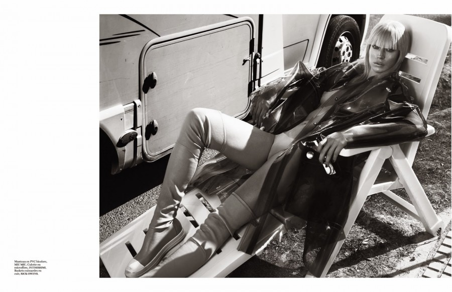 Raquel Zimmermann by Mert Alas & Marcus Piggott VOGUE PARIS SEPTEMBER 2014