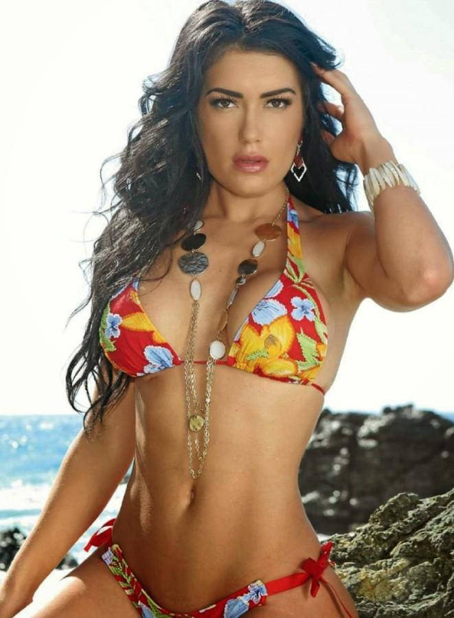 Miss February 2014 Mexico CJ Sparxx in Playboy