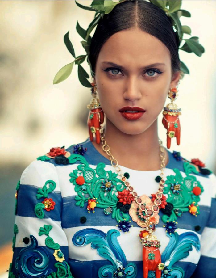 Vogue Japan October 2014 La Canzone Del Mare