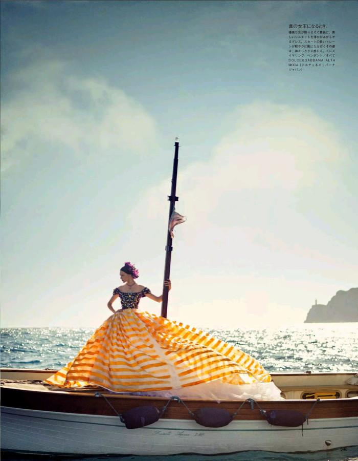 Vogue Japan October 2014 La Canzone Del Mare 5