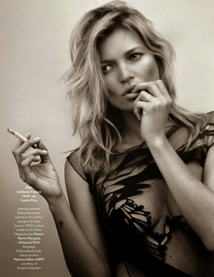 Kate Moss for Another Magazine Fall/Winter 2014