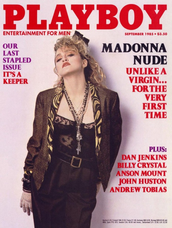Madonna in Playboy