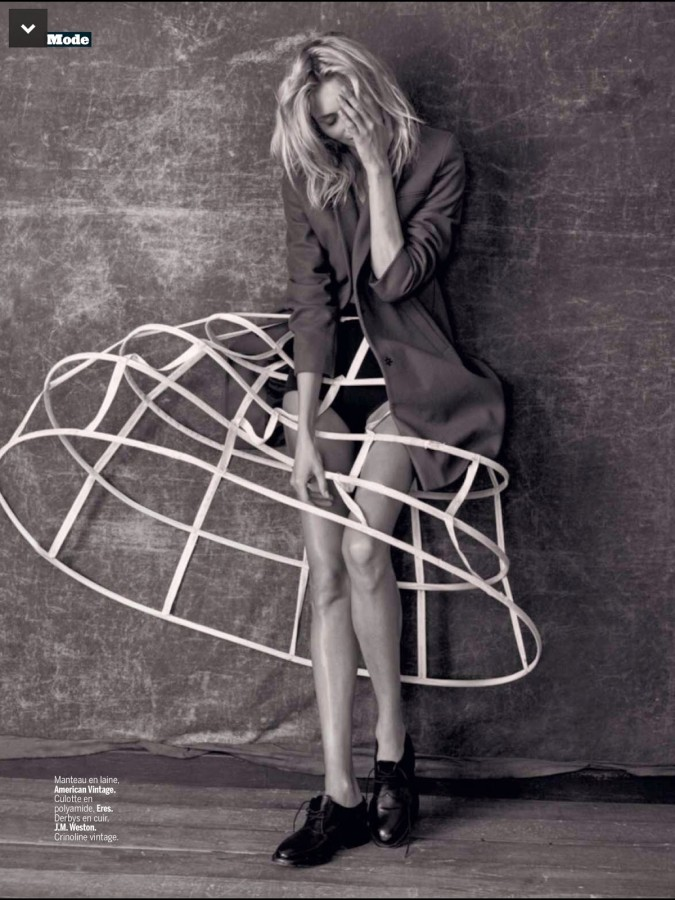 Anja Rubik by Matthew Brookes EXCLUSIVE - L'EXPRESS STYLES SEPTEMBER 2014