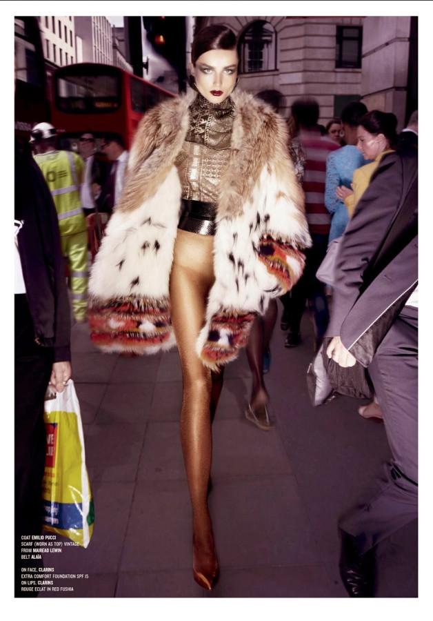 Andreea Diaconu for V Magazine Fall 2014