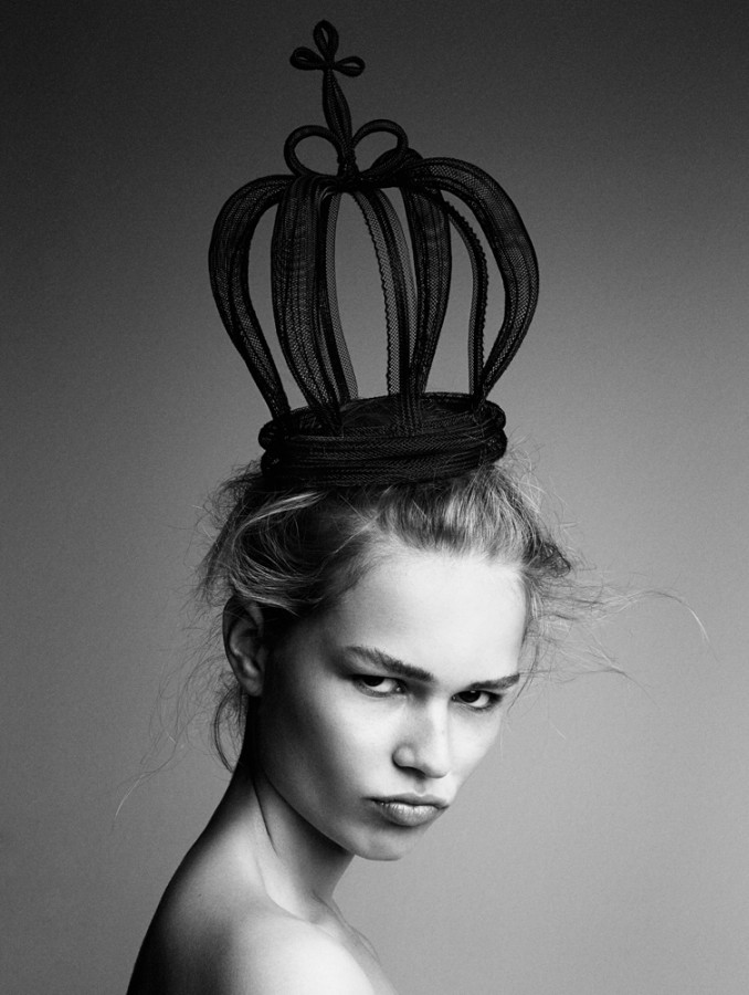 Anna Ewers by Patrick Demarchelier INTERVIEW SEPTEMBER 2014