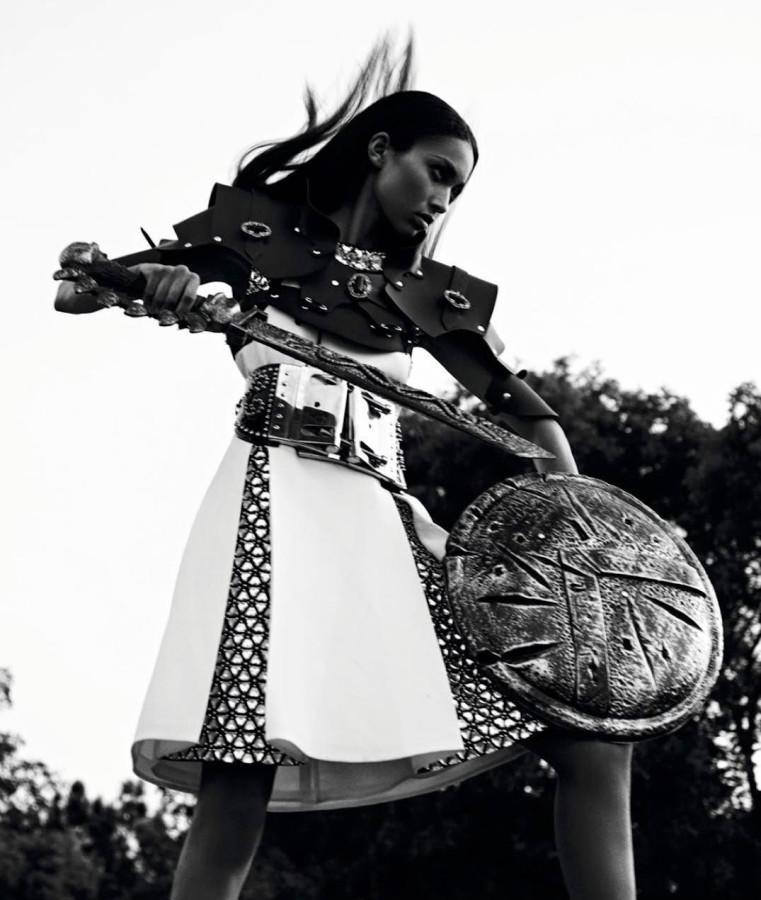 Anais Mali for French Revue de Modes Fall Winter 2014