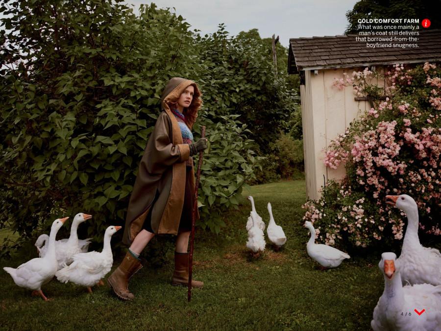 Natalia Vodianova by Annie Leibovitz VOGUE US OCTOBER 2014