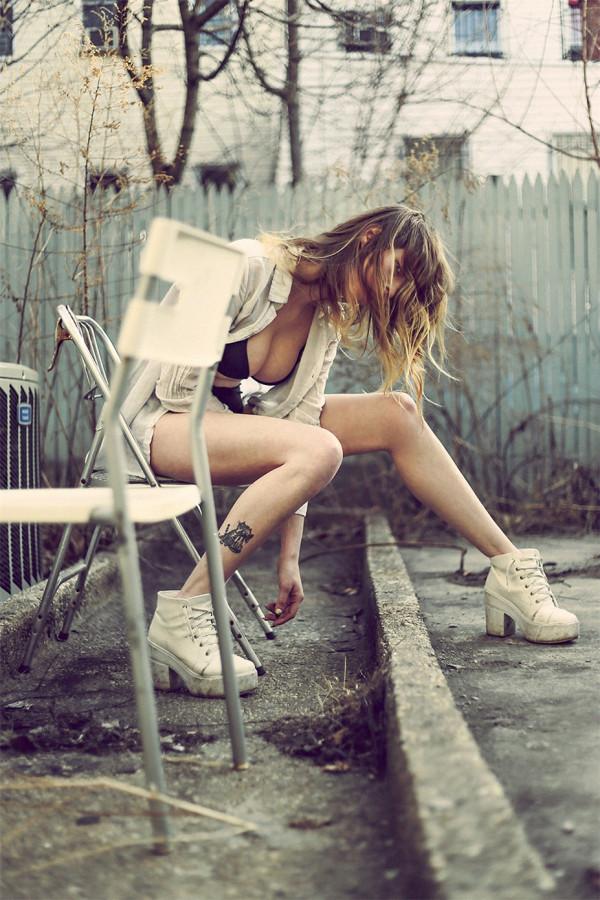 Dallis Ann  Даллис Энн фотограф Fernando Paz  Stalker by S Magazine