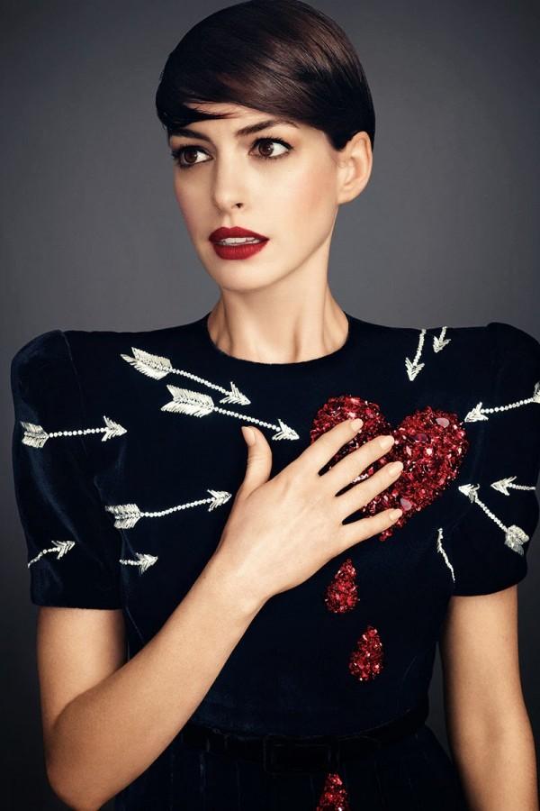 Anne Hathaway by Alexi Lubomirski HARPER'S BAZAAR US NOVEMBER 2014