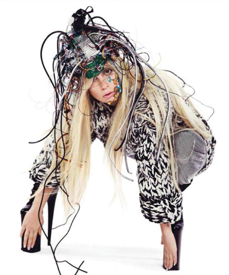 Lady Gaga Inez & Vinoodh Photoshoot 2013 for ARTPOP