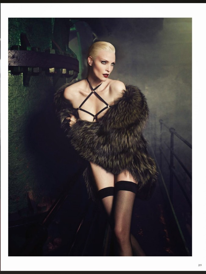 Nadja Auermann by Luigi+Iango VOGUE GERMANY NOVEMBER 2014