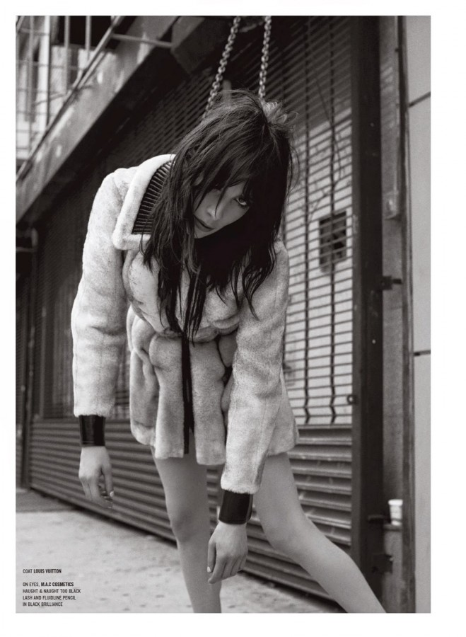 Little Darling Jamie Bochert by Sebastian Faena