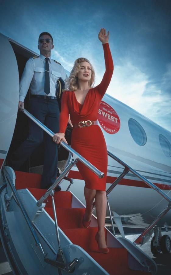 Kate Hudson stars in the Campari Calendar 2016