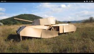 фанерный танк