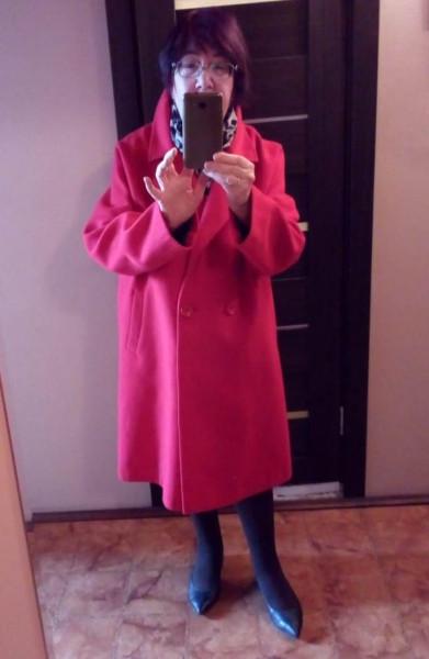 2021_Апрель_Красное пальто в день покупки_1