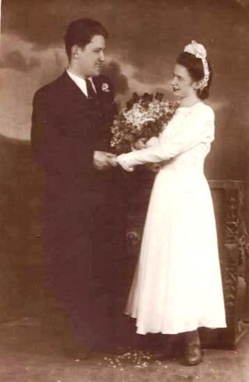 Папа и мама_День свадьбы