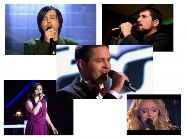Шоу Голос 4 исполнителя