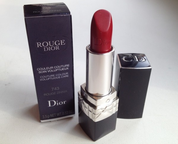 Помада Dior Rouge Dior №743 ZINNIA RED