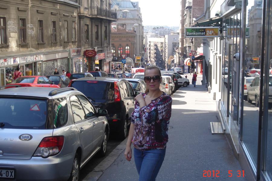 Улочки Белграда похожи на улочки Стамбула, Измира, болгарского Плевена, Питера....