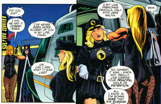 The Black Canary was awesome in the eighties and she's awesome now