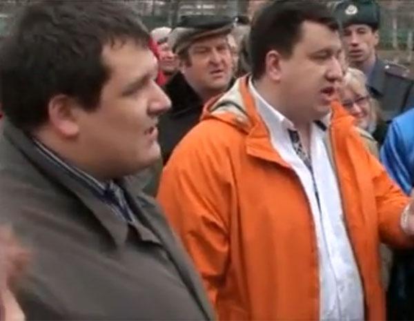Михаил Зиновьев и Вячеслав Скворцов