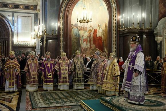 чин анафематствования, торжество православия