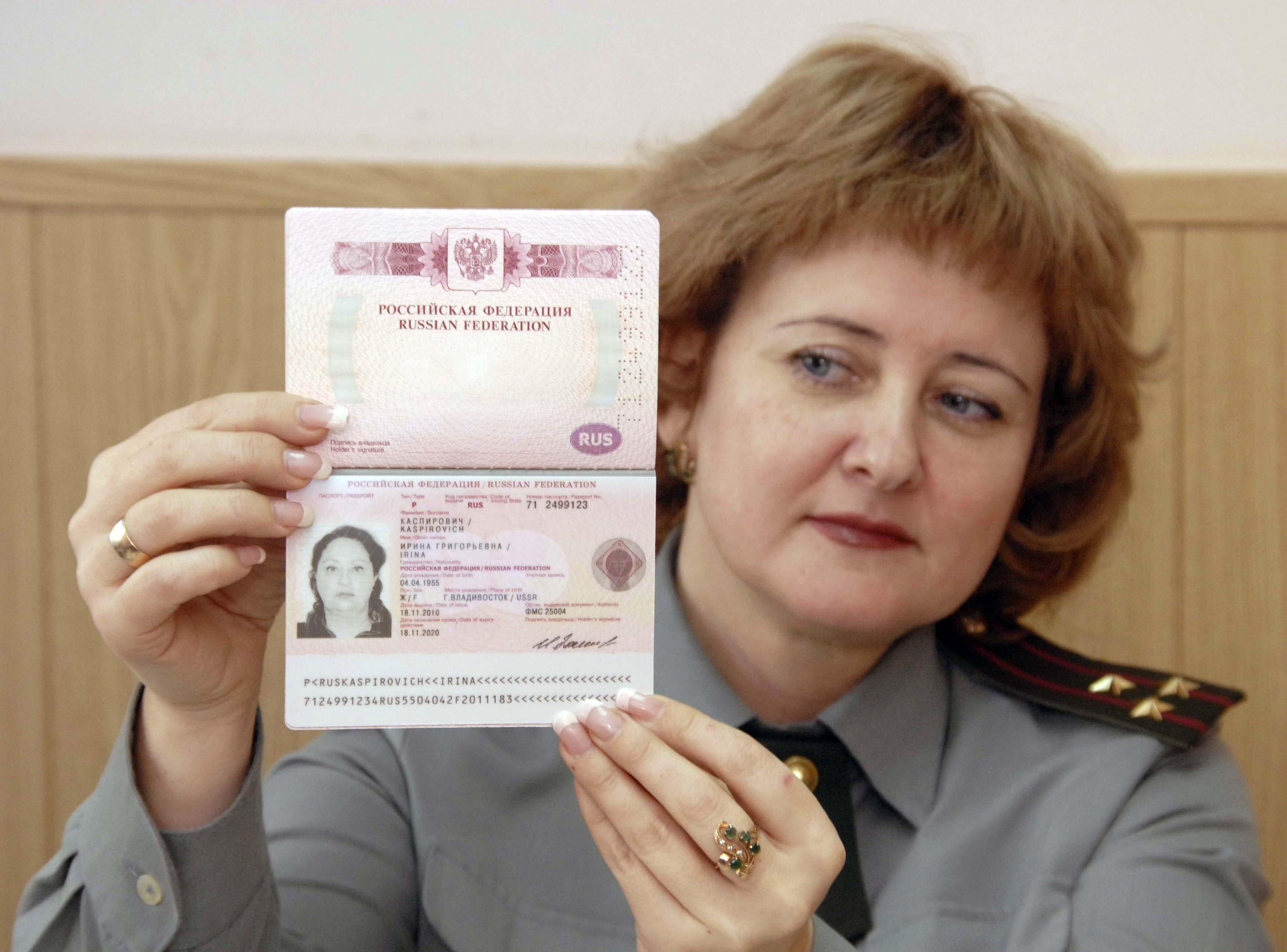 годы выпуска бланка паспорта