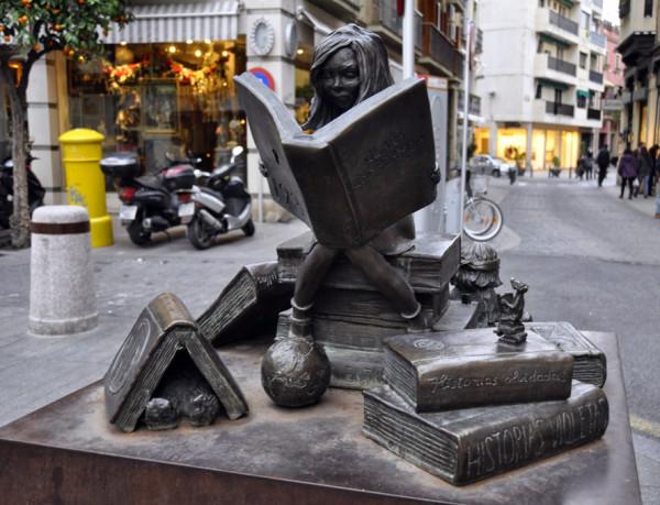 Читающая девушка. Андалусия