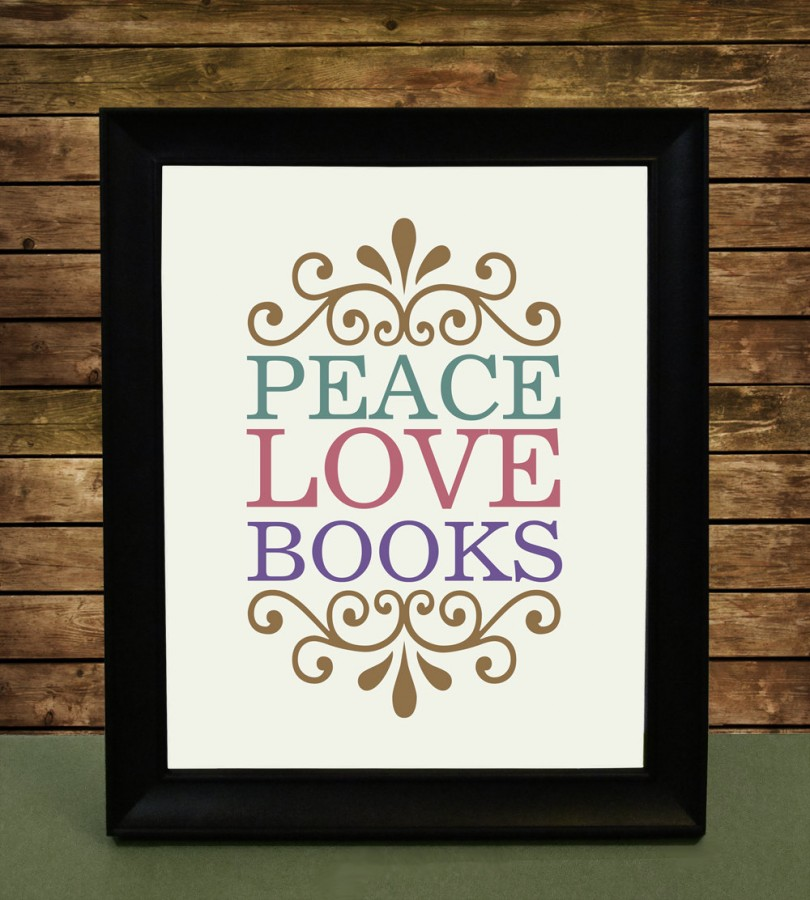 Book-Poster-Peace-Love-Books