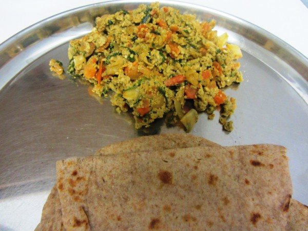 05212012 - Methi Egg Scramble