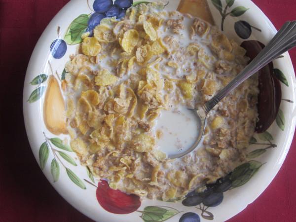 06062012 - Fav Breakfast - Honey Bunches of Oats with Milk