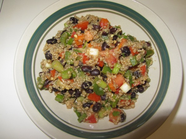 07042012 - Quinoa Black Bean Salad