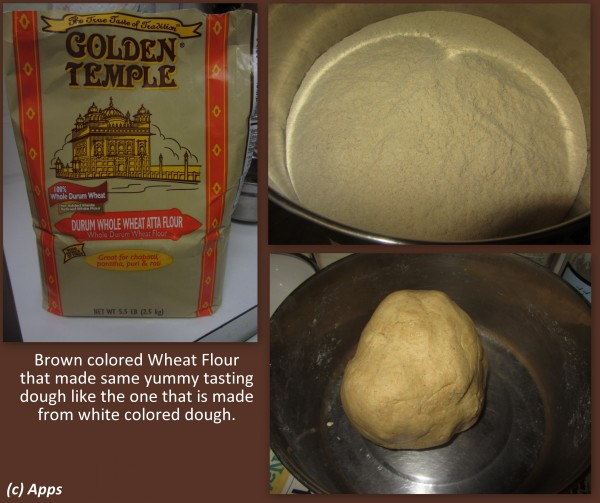 07102012 - Brown Colored Wheat Flour