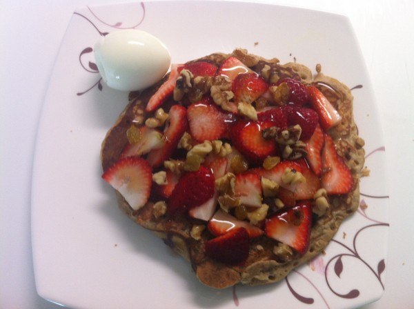 07142012 - Amazing Pancake made by Sruthi for Brunch
