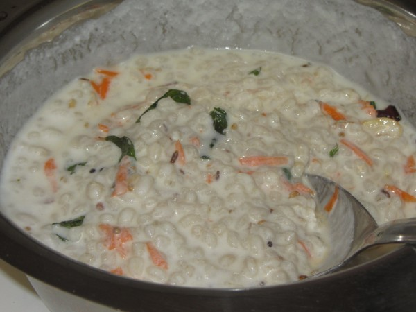 07182012 - Barley with Curd like Daddojanam