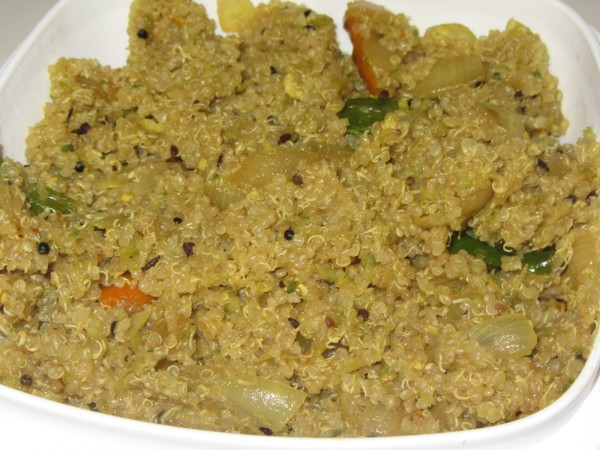 07252012 - Quinoa Fry with Karela
