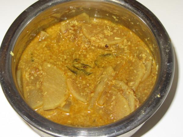 08242012 - Mullangi Gujju Curry