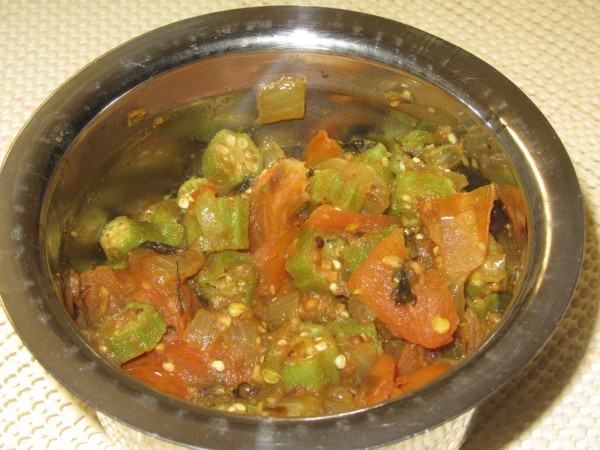 09042012 - Punjabi Bhindi Masala