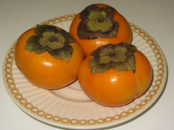 10062012 - Persimmon Fruit - One that I can eat a crate of them and still crave for more