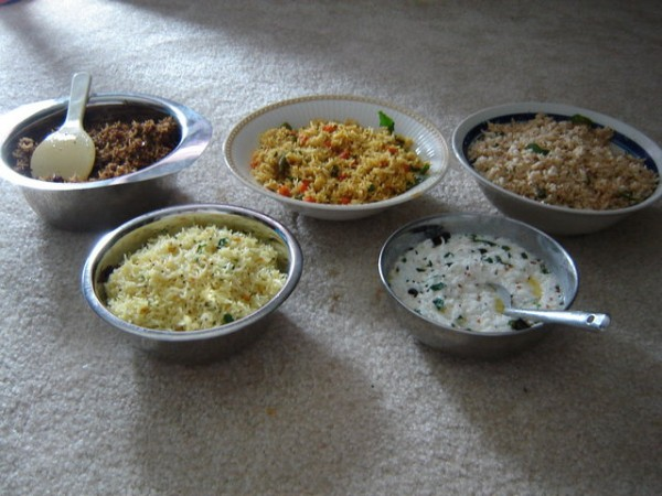10242012 - Dusshera special - 5 types of rice for dusshera
