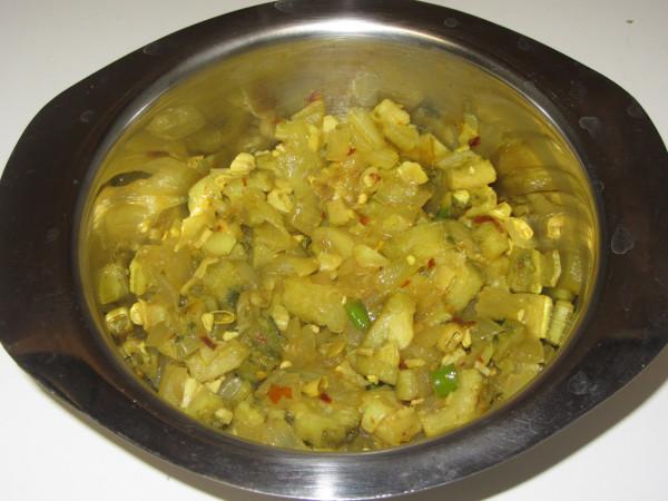 10292012 - Chatpathi Bitter Gourd Bhujiya