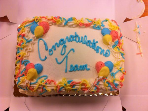 11072012 - PLDW Migration Celebration Cake